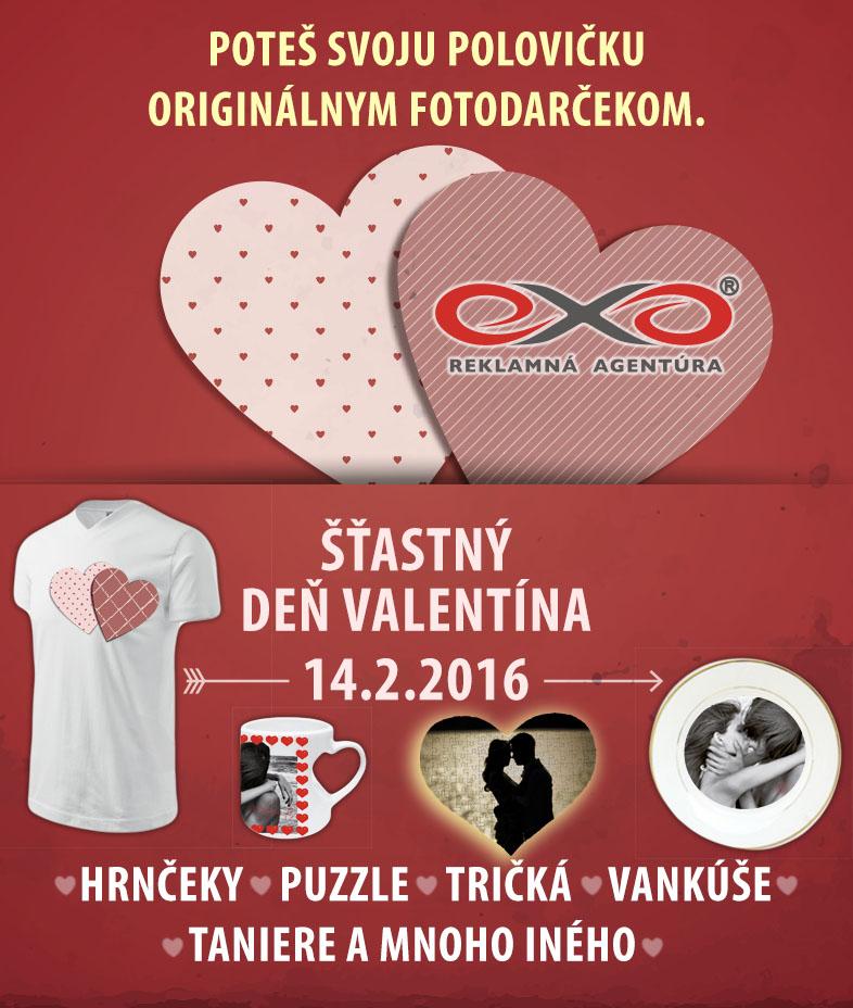 Darčekové predmety - Valentín